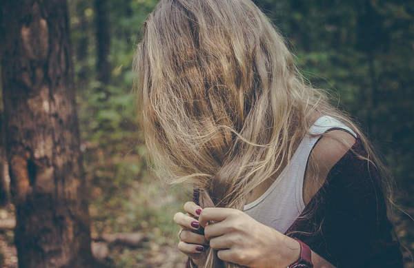 Le balayage des cheveux