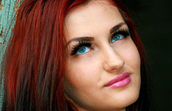 Mettre en valeur les yeux bleus