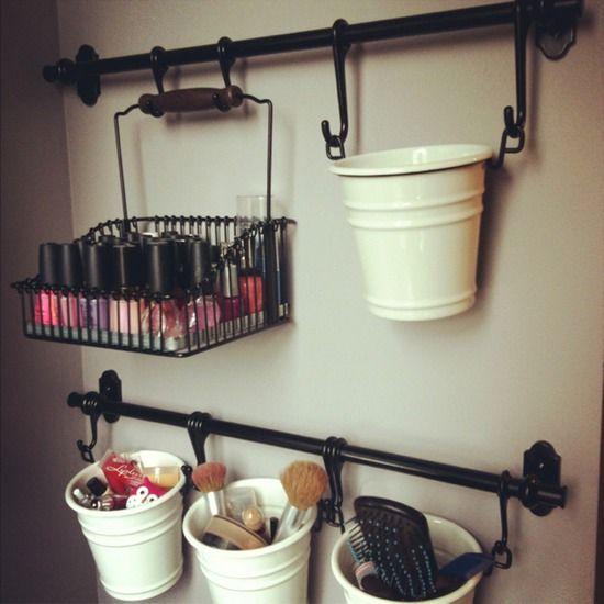 Créer un rangement makeup